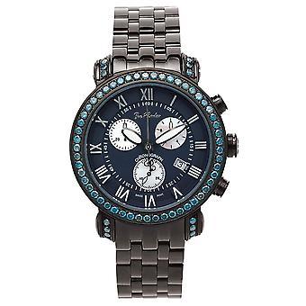 Joe Rodeo diamond men's watch - CLASSIC black 5.5 ctw