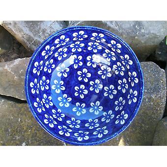 Shell ↑5, Ø14 15 cm, 5 cm, vol. 300 ml, Bolesławiec BSN blue, J-2331