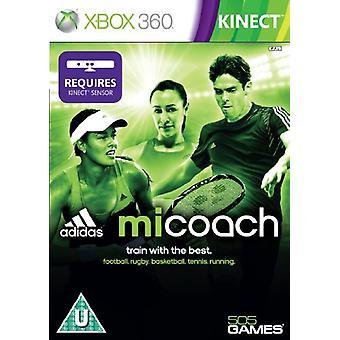 Adidas miCoach - Kinect Required (Xbox 360) - Novo