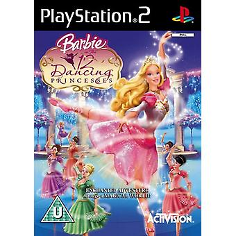 Barbie in de 12 dansen prinsessen (PS2)-fabriek verzegeld