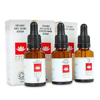 Organic anti aging derma roller serum kit 3 in 1