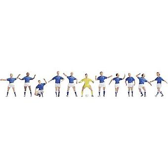 NOCH 15975 H0 Figures Football Team Blue/White
