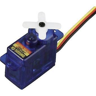 Hitec Mini servo HS-5055MG Digital servo Gear box material: Metal Connector system: JR