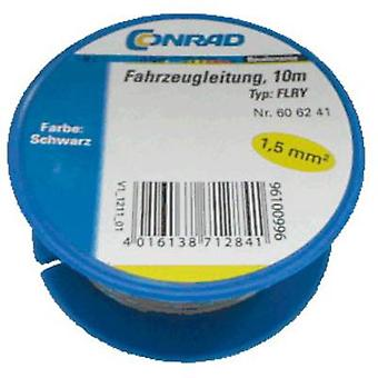 Conrad Bauteile 606241 Automotive Wire FLRY-B 1 x 1,50 mm ² schwarz 10 m