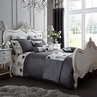 Koh Fancy kukka paneeli pussilakanat peitto kattaa Polycotton Luxury laskostettu Vuodevaatteet Set