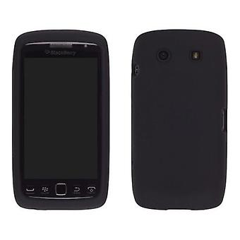 Capa de Gel de silicone para Blackberry Torch 9850/9860 (preto)