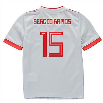 2018-2019 Spain Away Adidas Mini Kit (Sergio Ramos 15)