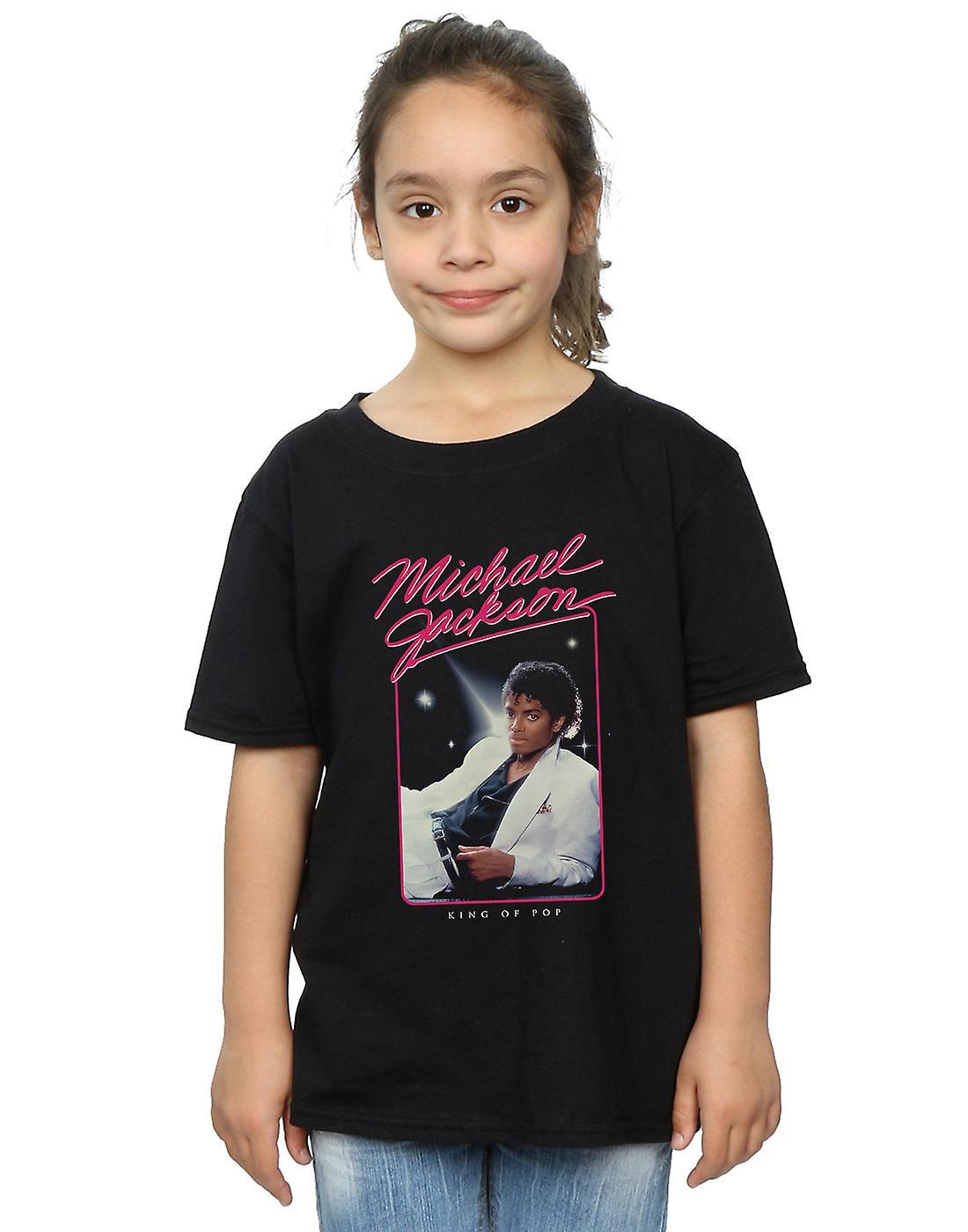 Michael Jackson flickor kungen av Pop foto T-Shirt