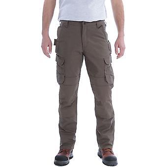 Carhartt Mens stål avslappet Cordura Cargo lomme bukser