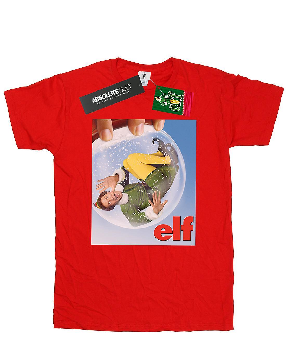 Elf Men's Snow Globe Poster T-Shirt
