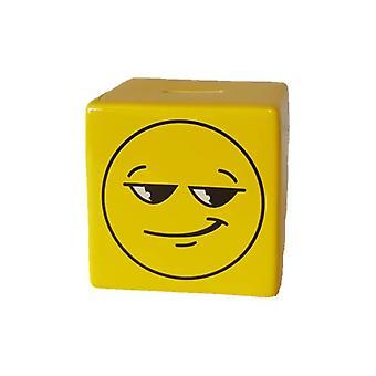 Smiley de caja de dinero