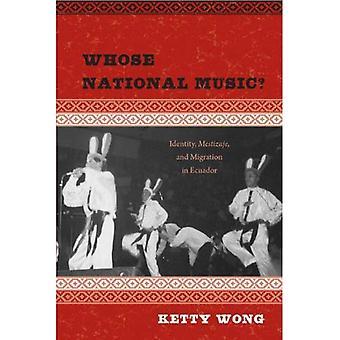 Vars nationella musik?