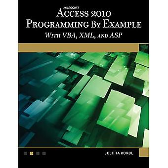 Microsoft Access 2010 Programming by Example with VBA, XML, and ASP (Computer Science)