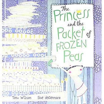 Prinsessan och paket frysta ärtor