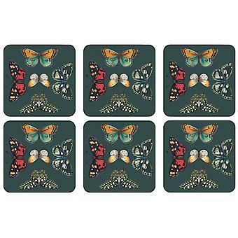 Pimpernel Botanic Garden Harmony Coasters, Set of 6