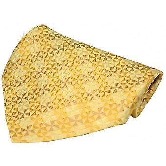 David Van Hagen vindmølle Design silke tørklæde - guld