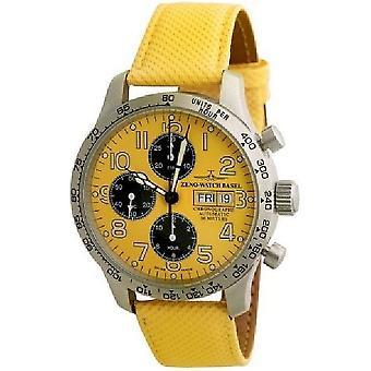 Zeno-watch mens watch NC pilot tachymeter chronograph-date 9557TVDD-2T-b91
