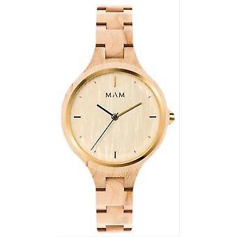 MAM Silt Watch - Light Wood Brown