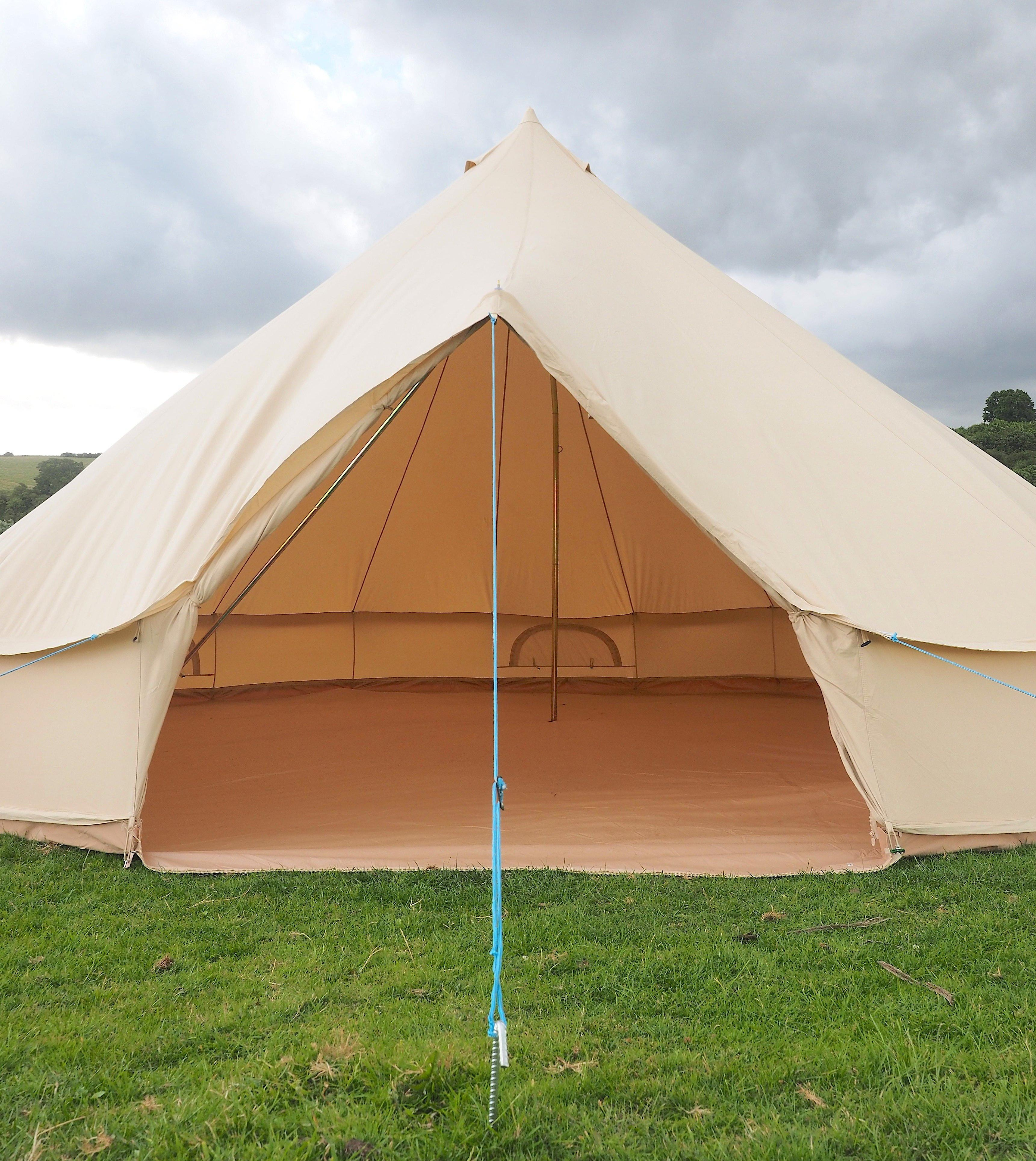 7 Metre XL Canvas Bell Tent