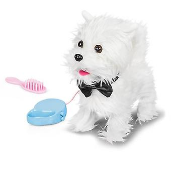 Walking Westie Action Soft Toy