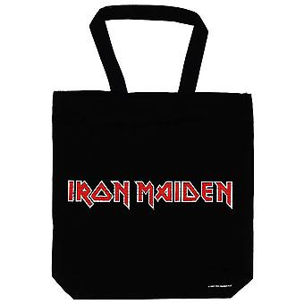 Iron Maiden Trooper Zip Top Cotton Tote Bag