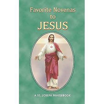 Favorite Novenas to Jesus by Lawrence G Lovasik - 9780899420608 Book
