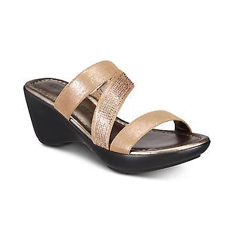 Karen Scott naisten adpetemin avoimen rento Platform sandaalit