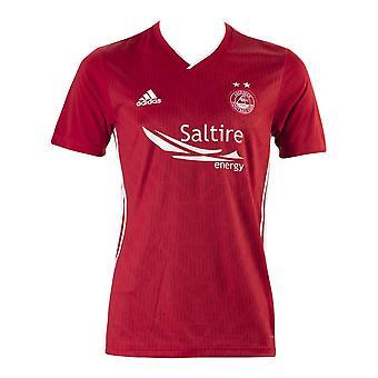 2019-2020 Aberdeen Adidas hjem Fotballdrakt