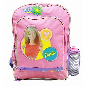 Backpack - Barbie - Purple - w/ Water Bottle (Large School Bag) New 14587