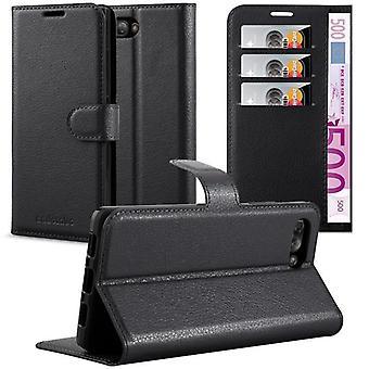 Cadorabo Hülle für Blackberry KEY 2 Case Cover - Handyhülle mit Magnetverschluss, Standfunktion und Kartenfach – Case Cover Schutzhülle Etui Tasche Book Klapp Style