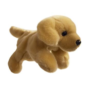 Hand Puppet - Full-Bodied Animal - Labrador (Yellow) Soft Doll Plush PC001808