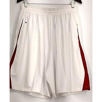 Holloway (XXL) Pull On Elastic Waist Hommes-apos;shorts White Womens