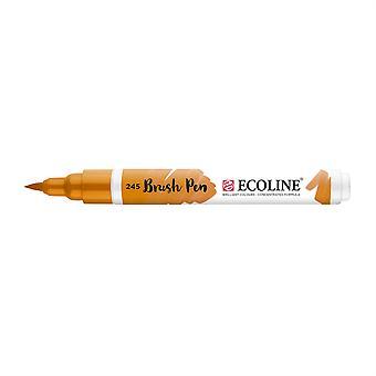 Talens Ecoline Liquid Watercolour Brush Pen - 245 Saffron Yellow
