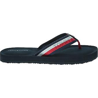 Tommy Hilfiger bunte Tommy bequeme Sandale FW0FW04235020 universelle Sommer Frauen Schuhe