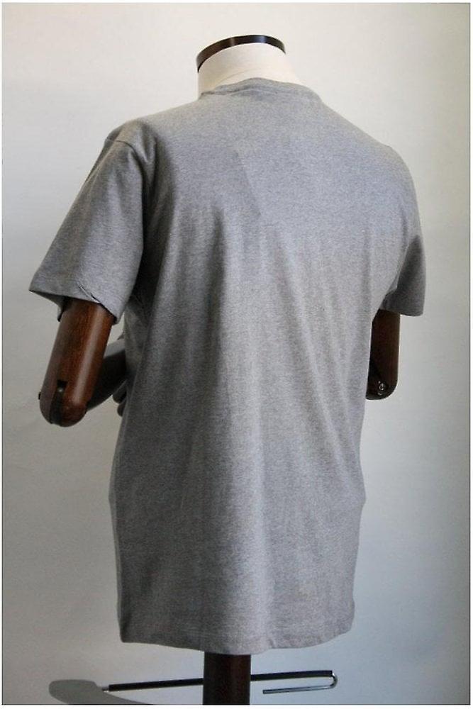 Merc London Keyport Grey Mineral Cotton T-Shirt