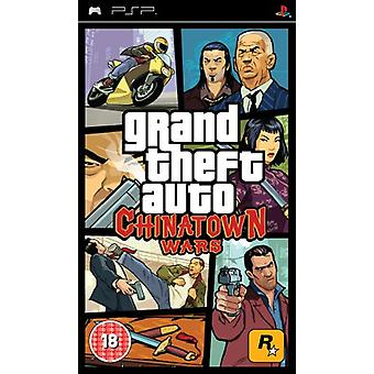 Grand Theft Auto Chinatown Wars (PSP)-fabriken förseglad