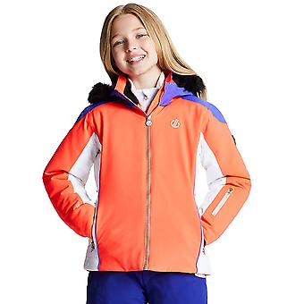 Dare 2b Girls Vast Water Repellent Hooded Ski Coat Jacket