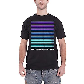 Two Door Cinema Club T Shirt Liner band logo new Official Mens Black
