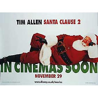 Santa Clause 2 (Double Sided) Original Cinema Poster