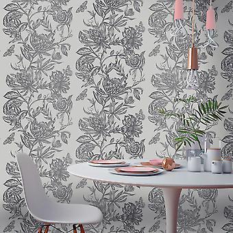 Crown Luxe Mayfair Kew Blommig bakgrund