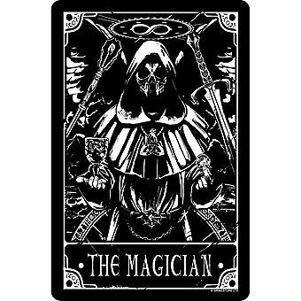 Deadly Tarot The Magician Tin Sign