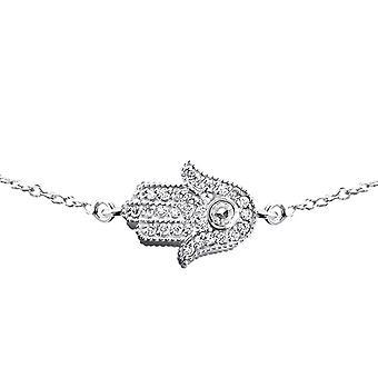 Hamsa - 925 Sterling Silver Chain Bracelets - W17871X
