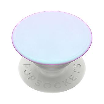 PopSockets Grip Stand for Phones and Tablets - Chrome Mermaid White