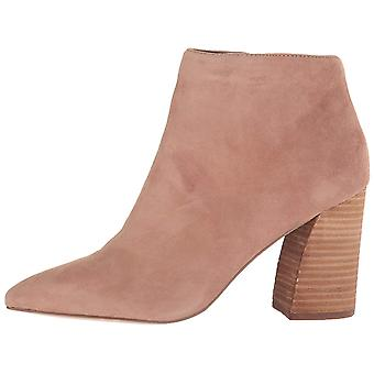 Steve Madden Womens Simmer Cuir Pointed Toe Ankle Fashion Boots