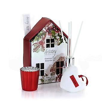 Artistry Collection Julehus Votive Candle & Diffuser gave sætter juletid