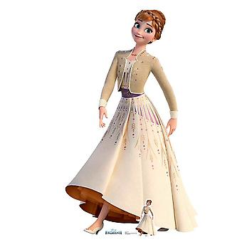 Anna Creme Kleid frozen 2 perfekt für gefrorene Fans, Partys und Events Höhe 164cm Breite 94cm