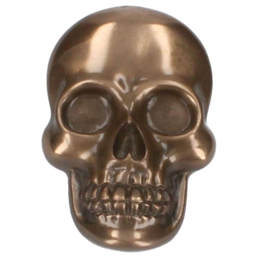 Bronze Skull Bottle Opener