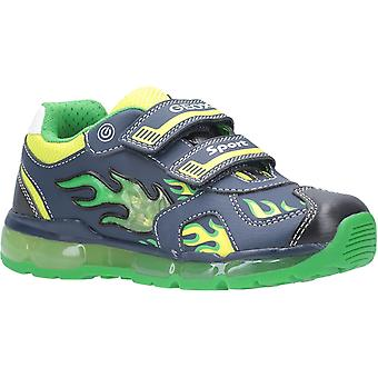 Geox Kids J Android Boy C Touch bevestiging trainer