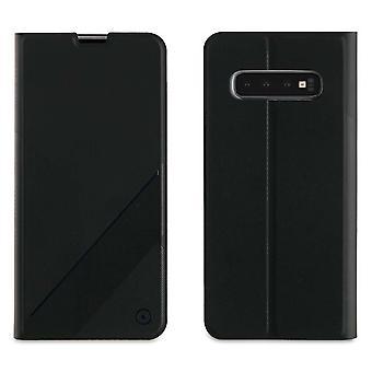 Case For Samsung Galaxy S10 Plus Black Card Door