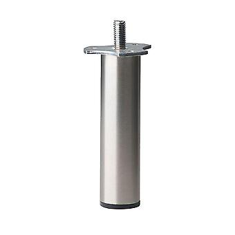 Round stainless Steel Furniture leg height 12 cm (M8)